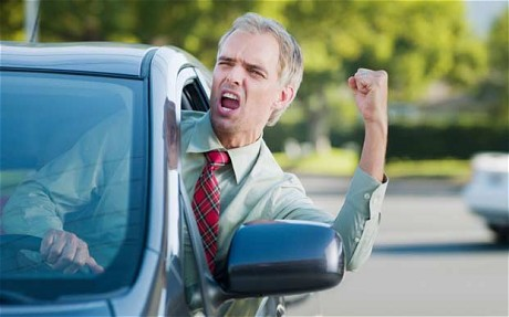 Get Rid of Road Rage