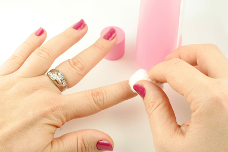 Removing Old Nail Paint