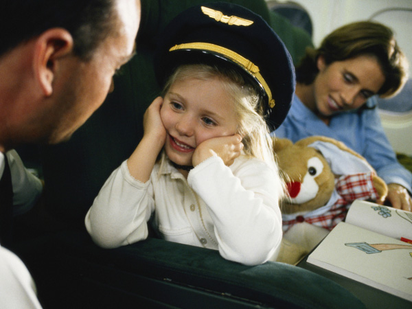 air travel with kid
