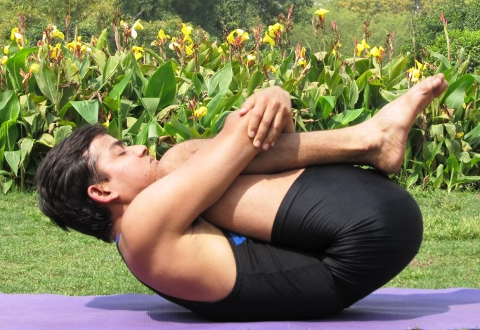 Pavanamuktasana – Wind Relieving Pose