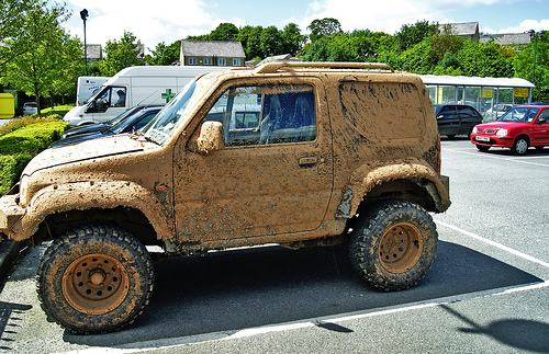 Dirty Jeep
