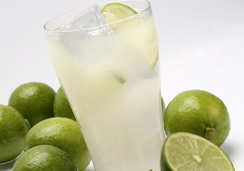 Lemon juice with lime