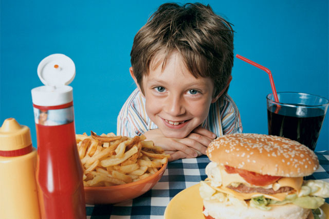 Eating Junk Food Affects Child's Health
