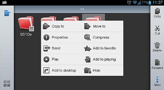 How to Share Files From Android to BlackBerry Via ES File Explorer