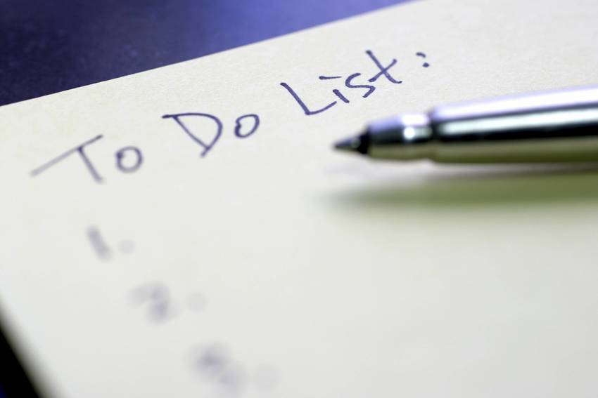 Using To Do List