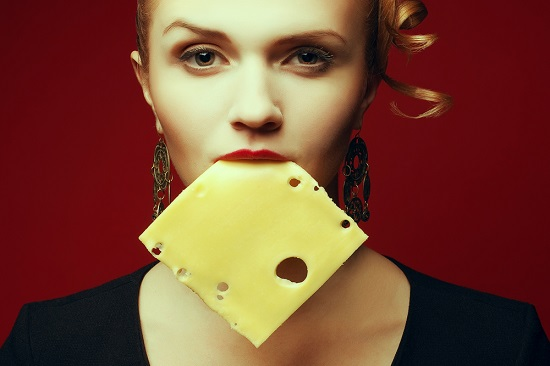 eating-cheese