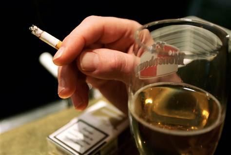 alcohol-smoking