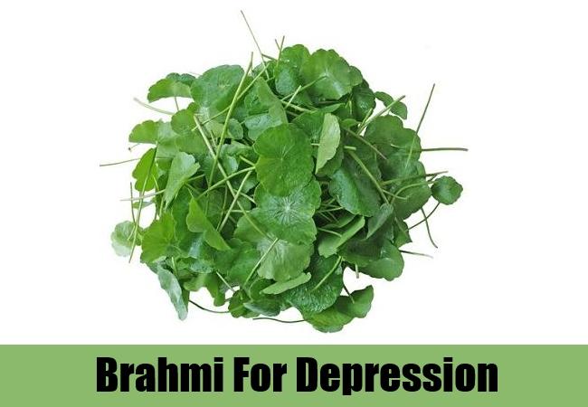 Brahmi for depression