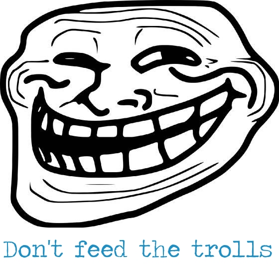 How to Deal with Trolls on the Internet