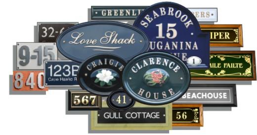 Address-Plaque