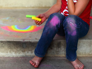 Remove Chalk Stains