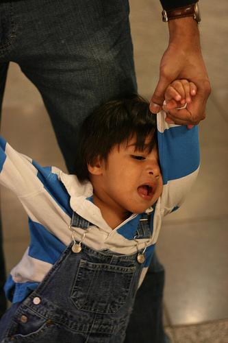 child's temper tantrums