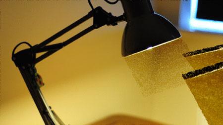 lamp dust