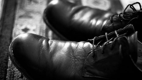 shoe creases