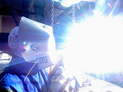 welders flash