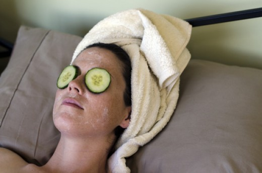 Multani Mitti and Cucumber Face Pack