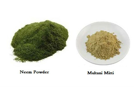Multani Mitti and Neem Face Pack