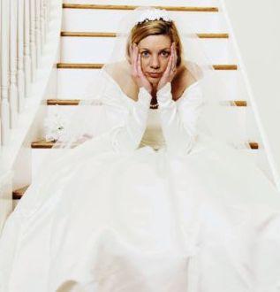 wedding jitters