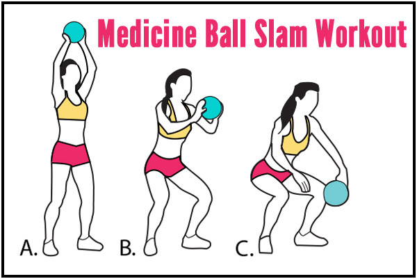 Medicine Ball Slam Workout