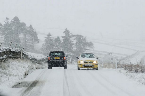 Drive in Snowy and Icy Conditions
