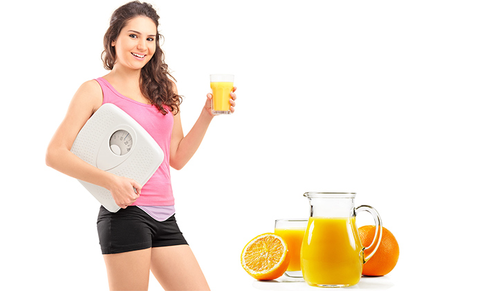 Orange Juice Effective For Weight Loss