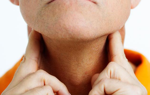 Food Lumps in Throat