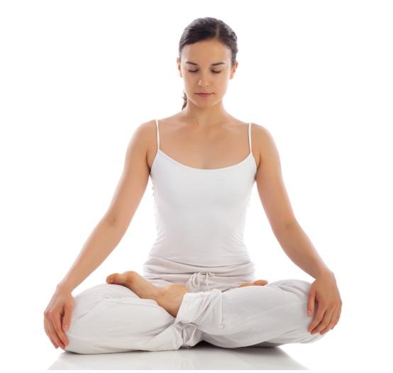Cross Your Legs In Yoga