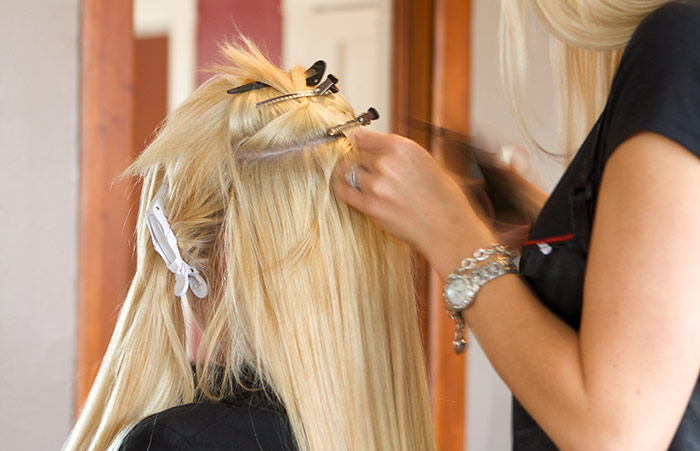 Pre Bond Hair Extensions