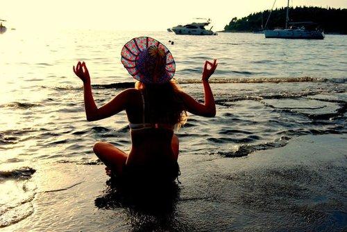 yoga while travel