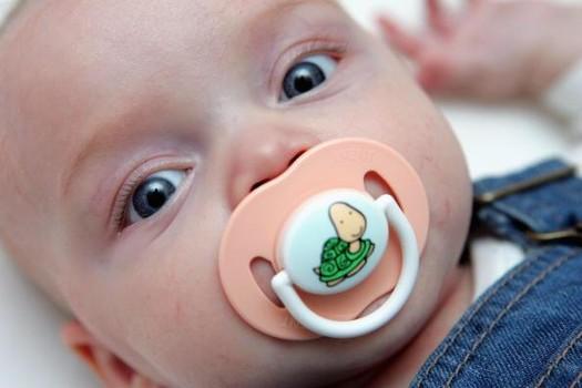 Baby's Pacifier Habit