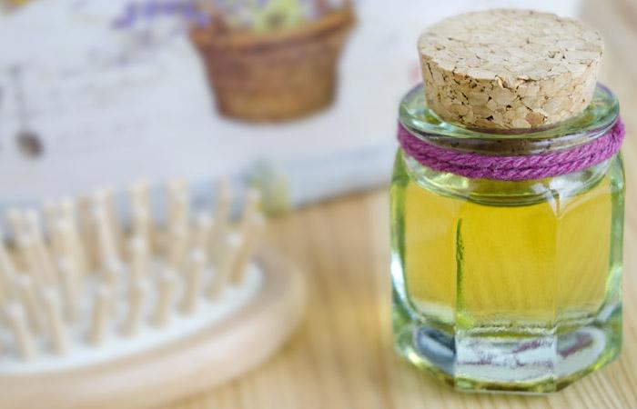 castor oil for dandruff