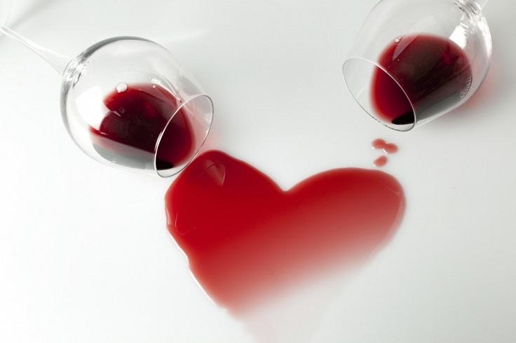 red wine heart health