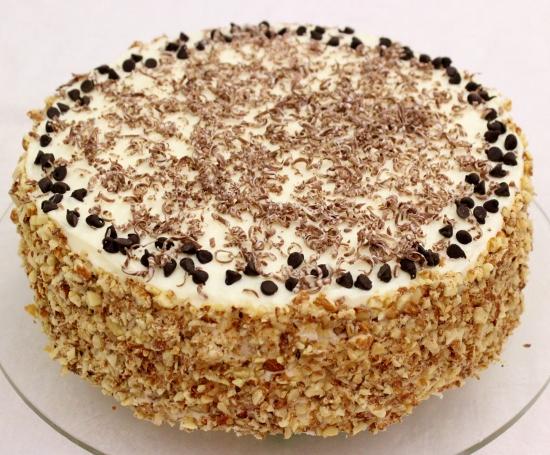 Prepare Cannoli Cream Sponge Cakes