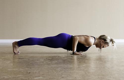 Chaturanga Dandasana –Plank Pose