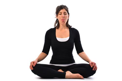 Sheetali Pranayama - Cooling Breath