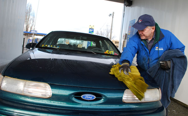 Clean Your Car Without Actually Washing It
