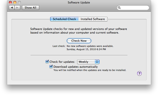 Keeping Your Mac Updated