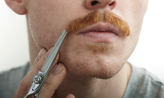 trim your mustache