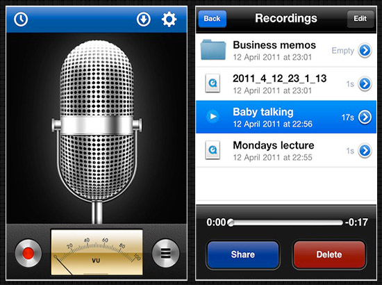 voice-recorder-for-iPhone