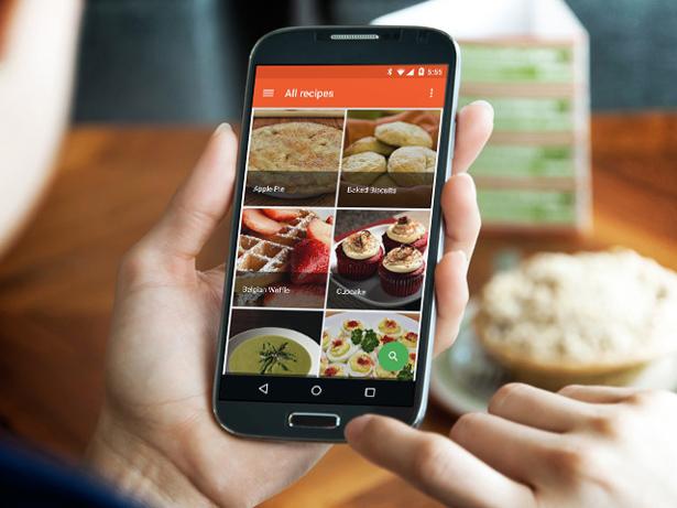 Android Digital Cookbook