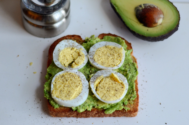 Egg Avocado Toasty
