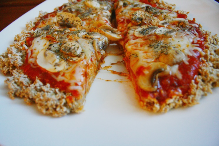 Oat Flour Pizza