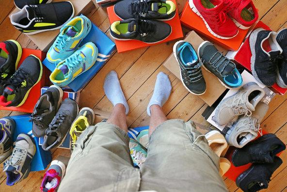 Shopping Running Shoes