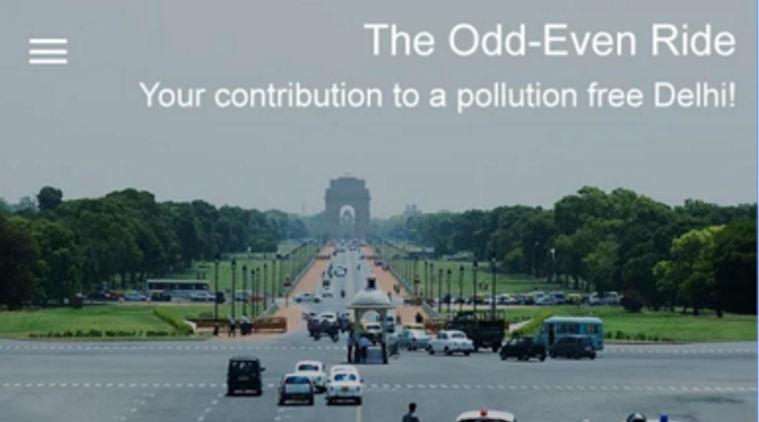 Delhi's Odd-Even Scheme