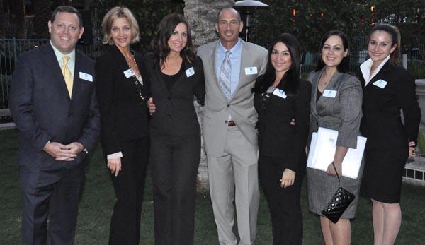 corporate event management team