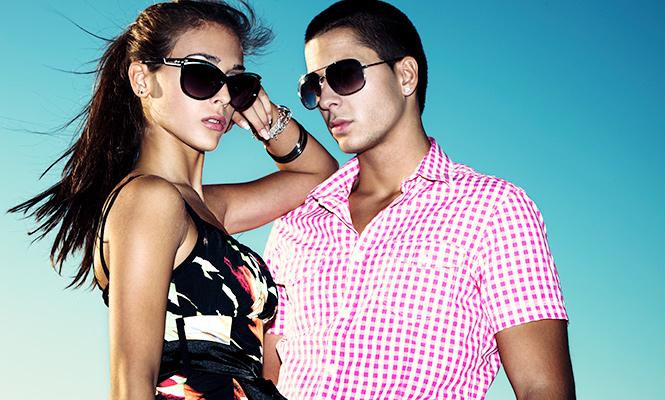 Wear sunglasses