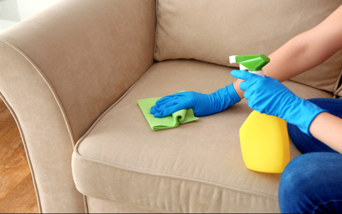 To Clean And Sanitize A Couch